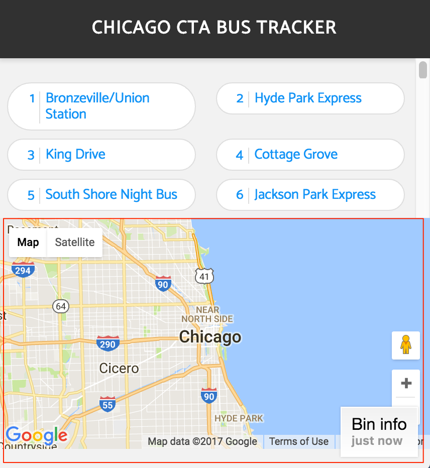 CTA Bus Map | intermediate recipes | Guides | CanJS — Build